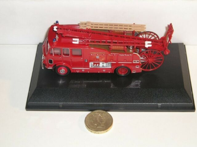 Oxford Fire Diecast 1:76 OO Gauge Model Fire Engine Truck Pump Railway Diorama