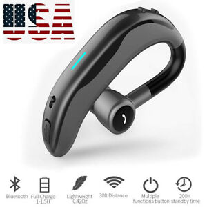 Business Bluetooth Headphone Voice Control Headset For Samsung Galaxy S10 S9 S8 Ebay