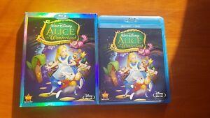 Alice In Wonderland 60th Anniversary Edition ULTRA RARE OOP SLIPCOVER