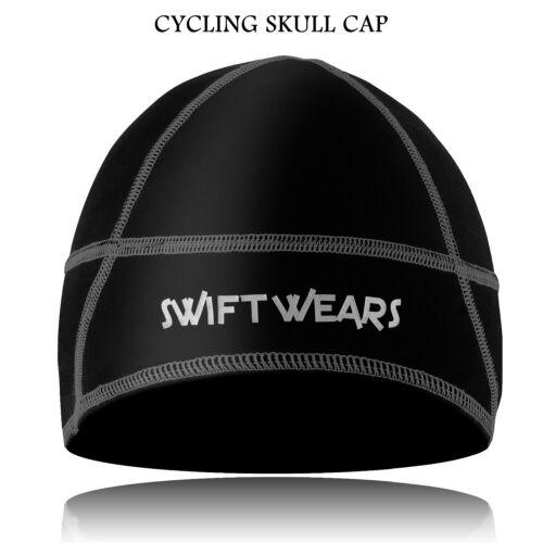 CYCLISME calottes Hiver Thermique Sous Casque Cycle Vent Moto Cap