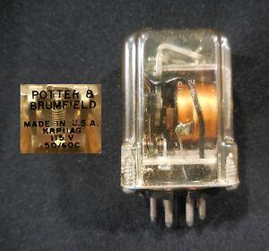 Potter-Brumfield-DPDT-Relay-Model-KRP11AG-115-V-50-60-Hz