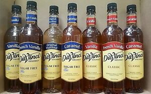DaVinci-Gourmet-FLAVORED-Coffee-MIX-SYRUP-MANY-FLAVOR-CHOICES-PICK-ONE