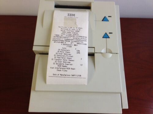 IBM 4610-TI4 SureMark Thermal POS Printer RS485//DB9 NEW thermal