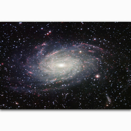 H-801 Galaxy Space Stars Nebula Landscape Cover Wall Silk Poster