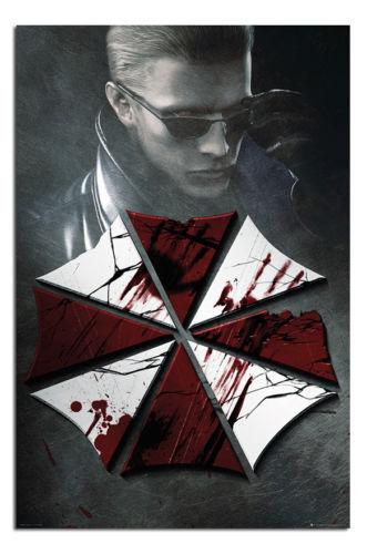 Maxi Größe 91.4x61cm Resident Evil Schlüssel Kunst Poster Neu