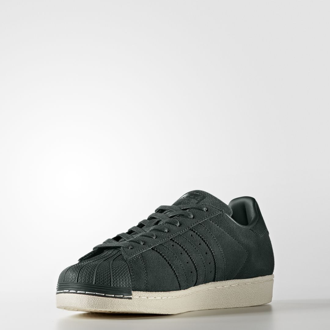 e6f38538771c Adidas Superstar Suede Green Night       BZ0200   Men s Originals Shell Toe  White 3f5a04