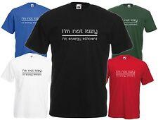 Zingy Evolution EDF Energy Mens Funny T-Shirt 12 Colours