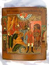 Icona russa antica originale, Russian icon, Russische Ikone, Icon, Ikon, Ikone.