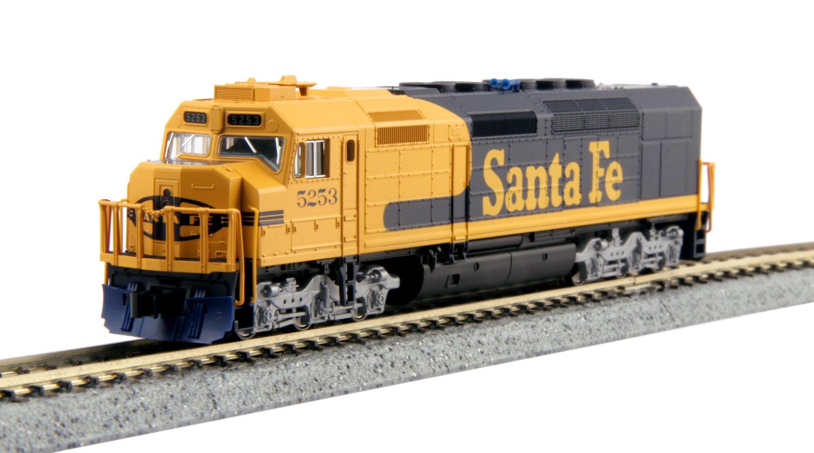 KATO 1769212DCC N  Scale EMD EMD EMD SDP40F Type IVa Santa Fe DCC  NEW ffabce