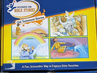 Hooked on Phonics Bible Stories Old Testament Stories Complete Boxed Set PreK-1