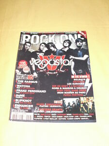 ROCK-ONE-MAG-N-13-Septembre-2005-Vegastar-The-Rasmus-Watcha-Franz-Ferdinand