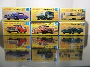 Matchbox-Superfast-Special-Lot-6-X-empty-Repro-Box-style-G
