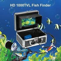 Digital Lcd Underwater Fish Finder Camera Hd 1000tvl 30m Cable Us Plug U0k1