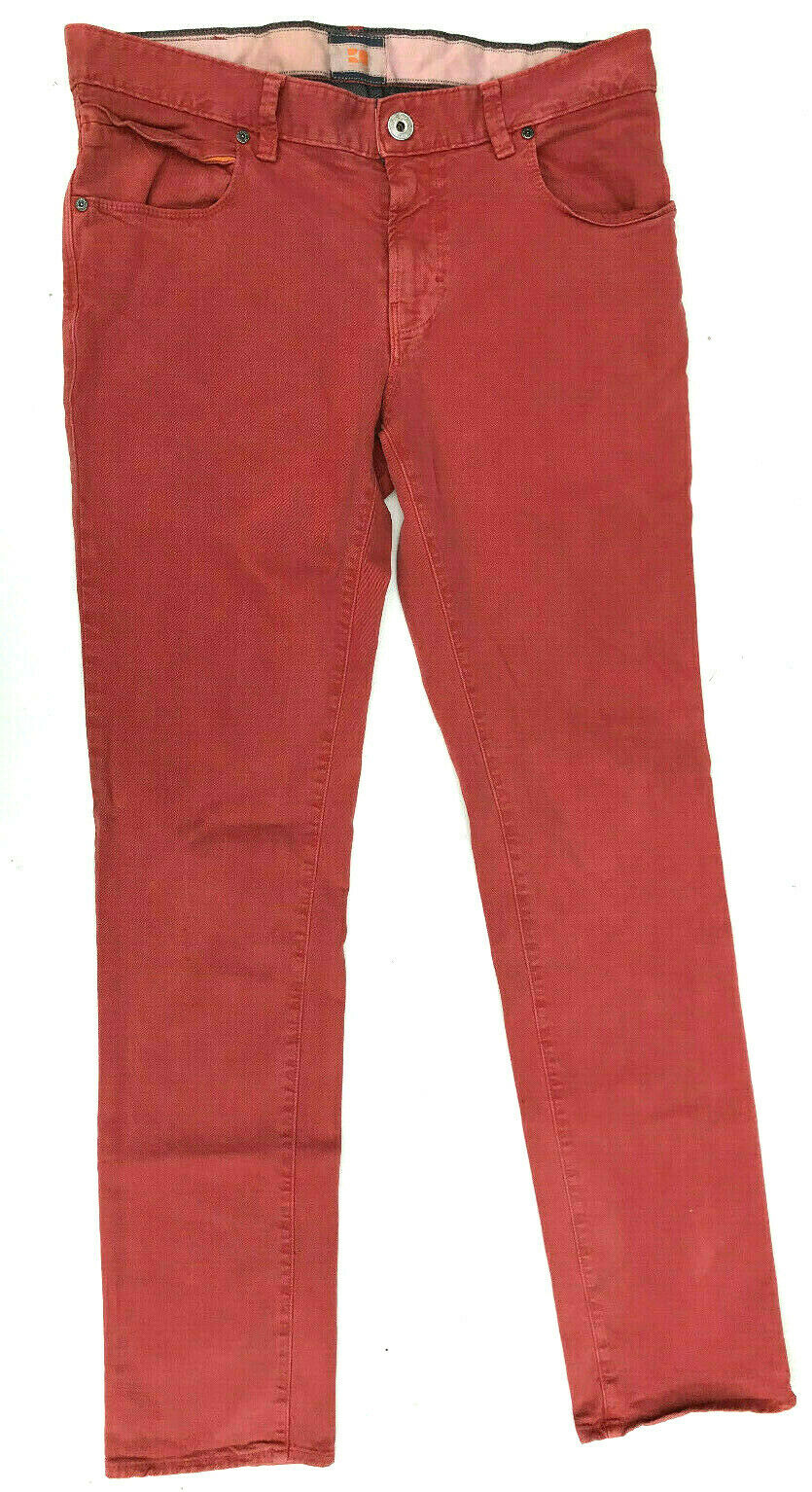 Hugo Boss Jeans 'orange63 COLOURED' SLIM FIT Mens Size W34 L34