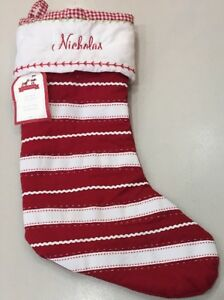 Nwt Pottery Barn Kids Stripe Quilted 2017 Holiday