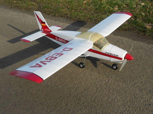 GRAUPNER-Boelkow Junior -  mediamente volo finito  elektorantrieb