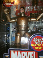 MARVEL LEGENDS  MOJO SERIES FIRST APPEARANCE IRONMAN GOLD VARAINT ACTION FIGURE