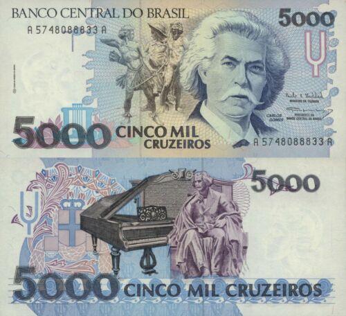 p232c UNC Brazil 5000 Cruzieros ND//1993