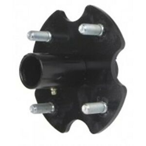 75416HLB-Hub-Assembly-less-bushings-4-blot-Sidewinder-Rotary-Cutter-Tail-Wheel