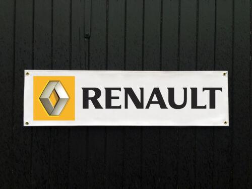Shop Custom Banners! Promotional Item Renault Car Banner for Garage