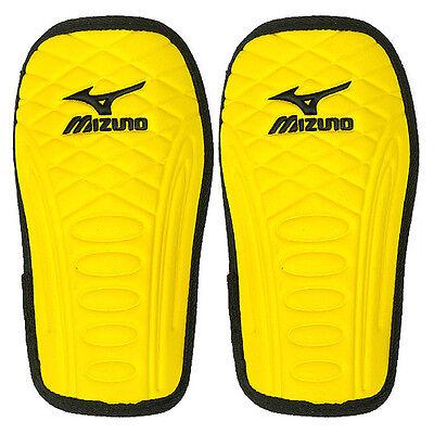 Mizuno Men's Soft Shin Guard Protector Knee Pads Football Yellow 12ZG0545