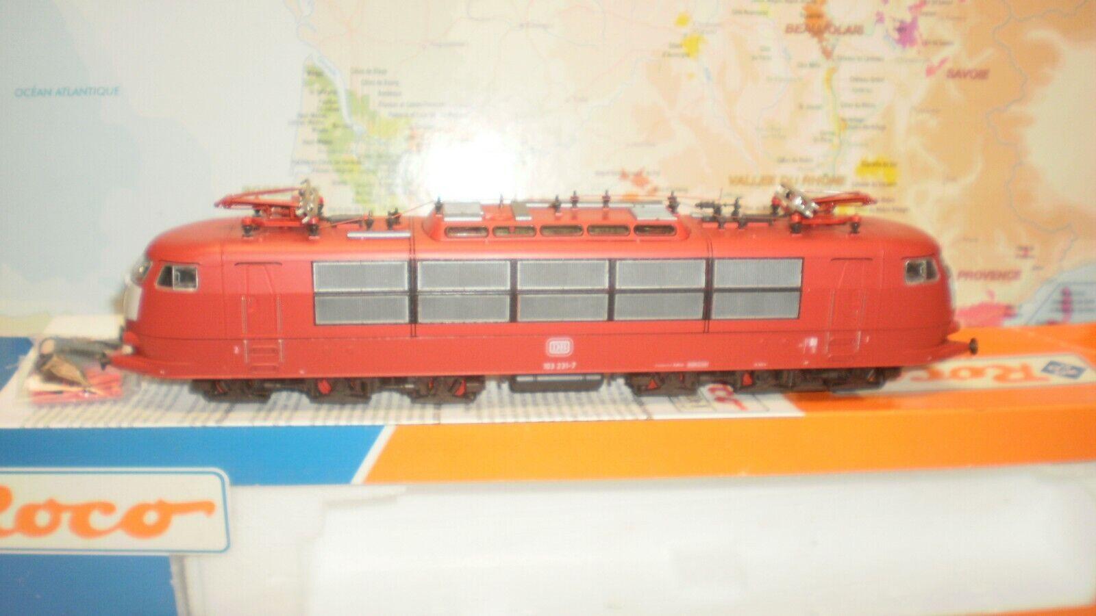 Loco électrique 103 231-7 DB Roco HO