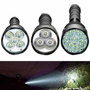 100000 lumen cree led cree xm l t6 tactical flashlight. Black Bedroom Furniture Sets. Home Design Ideas