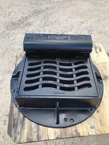 Details about EAST JORDAN IRON WORKS EJ EJIW 7010-Z Curb Inlet w/ M3  Sinusoidal Grate, T3 Back