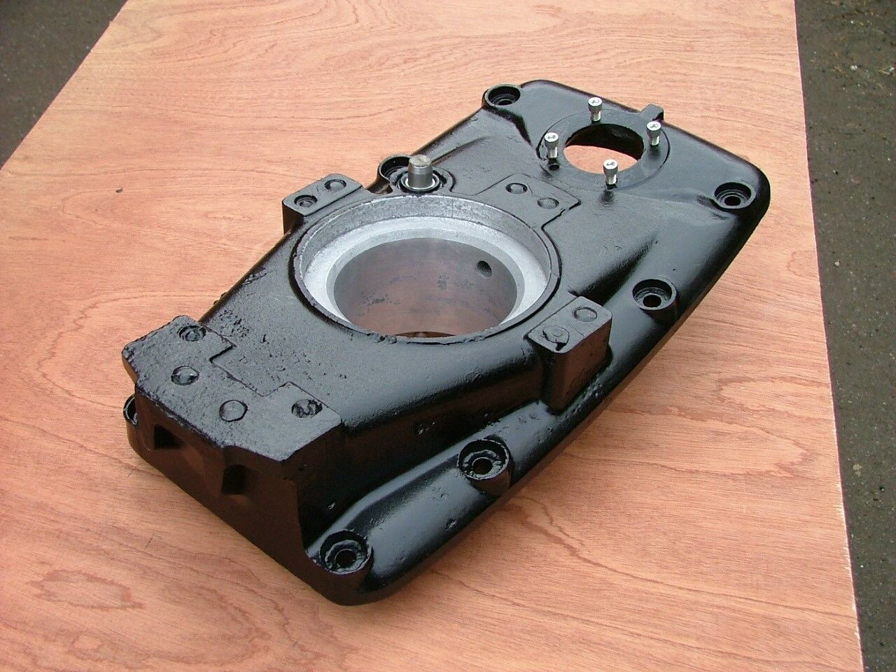 ENFIELD 130. Z   STERN DRIVE. TRANSOM MOUNTING PLATE