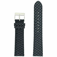 Snake Grain Grey Watch Band Quick Release Spring Bars