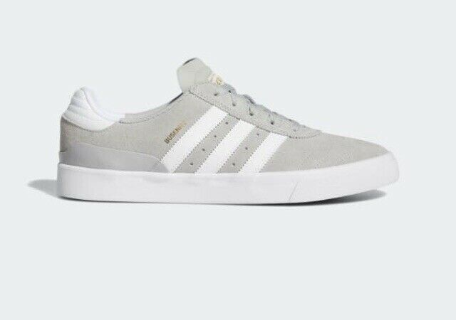 Adidas Busenitz Vulc Men's Trainers Skate Shoes, Uk 9.5 Grey/white