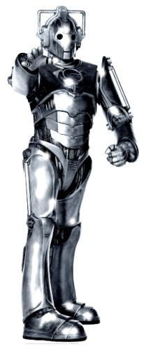 CYBERMAN TABLETOP DR DOCTOR WHO CARDBOARD CUTOUT STANDEE STANDUP DECORATION PROP