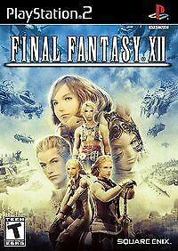 Final Fantasy XII - 2006 Square Enix - (Teen) - Sony PlayStation 2 PS2