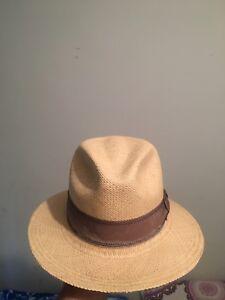 390c0ed9 Image is loading Genuine-Panama-Hat-Goorin-Bros-Size-L