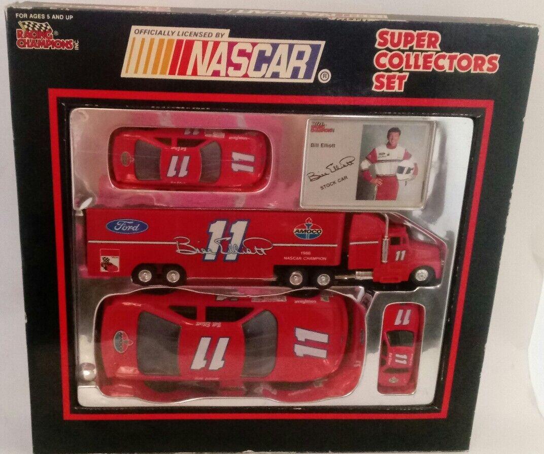 NEW Racing Champions Nascar Super Collectors Set  11 Ford/Amoco Bill Elliott