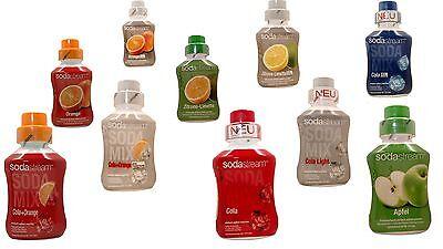 (€8,50/L) SodaStream Sirup Getränkesirup Sirup 500ml Cola & Co