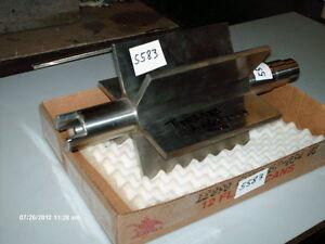 Falk-Rotary-S-S-Air-Lock-Rotor-430C1858-8-034-Blade-Width-Shaft-16-3-4-034-2-034-OD-NEW