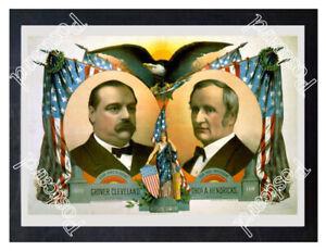 Historic-Grover-Cleveland-for-president-Advertising-Postcard-1