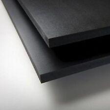 "BLACK SINTRA PVC FOAM BOARD PLASTIC SHEETS 2 MM 12"" X 24"""