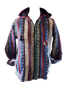 nepal winter jacke hippie