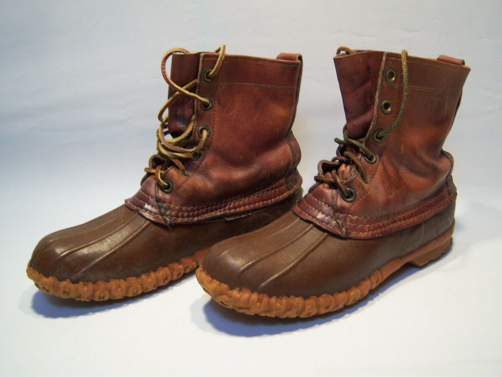 Vintage L.L Bean Casual Leather Maine Hunting Boots Men's