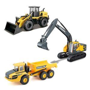 BBURAGO-Diecast-costruzioni-1-50-VOLVO-NEW-Holland-Escavatore-Caricatore-Hauler