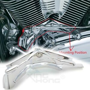 Chrome Cylinder Base Covers For 2006 2017 Dyna Model Fxdl