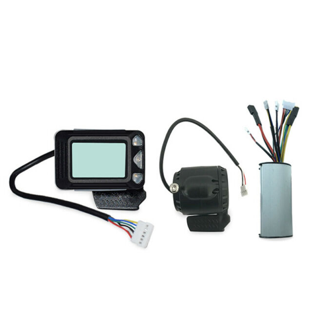 1X(Controller Brake Lcd Display 24V 250W Carbon Fiber Electric Scooter Cont E5G4