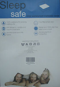 HEAVY-DUTY-WATERPROOF-BED-MATTRESS-PROTECTOR-COVER-SHEET-DOUBLE