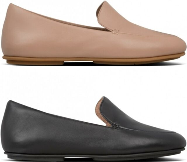 FitFlop Casa Leather Loafers Uk4
