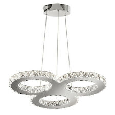 SEARCHLIGHT CLOVER 27 LED LIGHT POLISHED CHROME FINISH MODERN CEILING PENDANT
