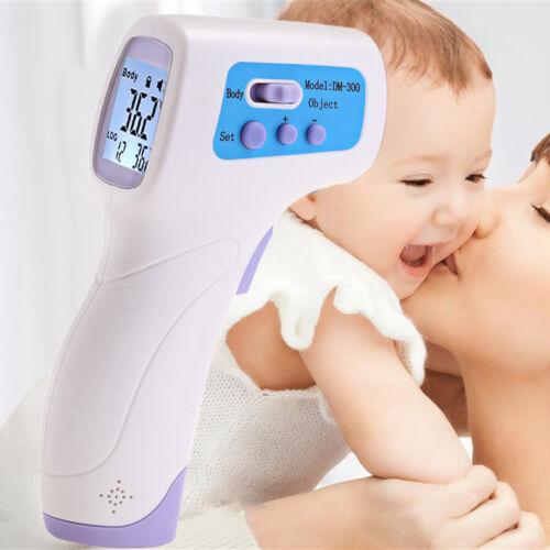 Termometro Laser Infrarossi Digitale Per Bambini Adulti Con Display Lcd  Linq