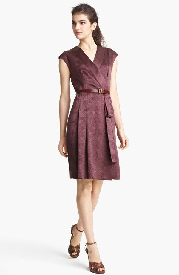 MARC JACOBS Print Silk Dress (Größe 8)