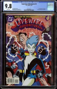 Superman-Adventures-5-CGC-9-8-White-DC-1997-1st-appearance-Livewire